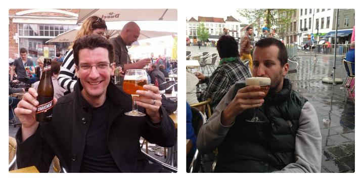 The day after the Ronde van Vlaanderen or Tour of Flanders