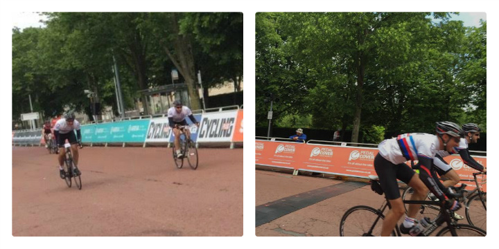 The Velothon Wales finish line