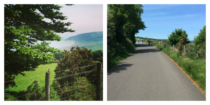 Porlock Toll Road at the Broleur Tour of Wessex