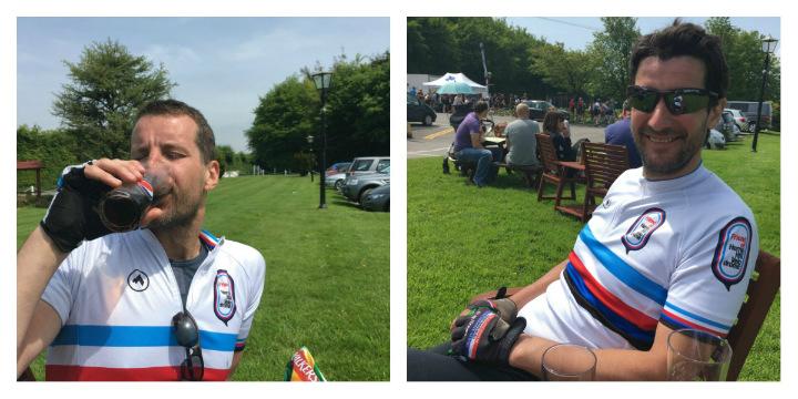 Coke break on the Broleur Tour of Wessex