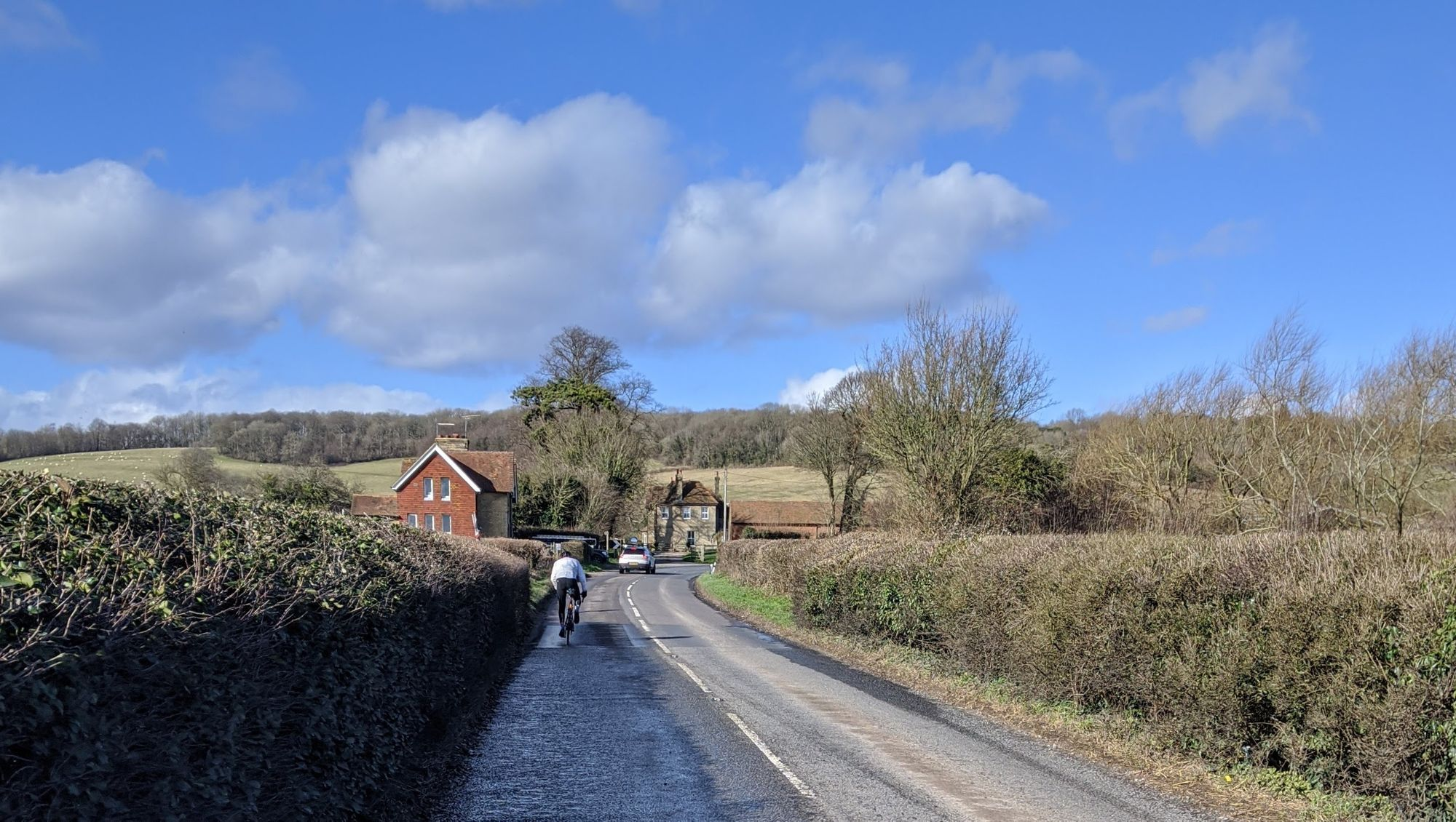Cycling through the lanes of Kent