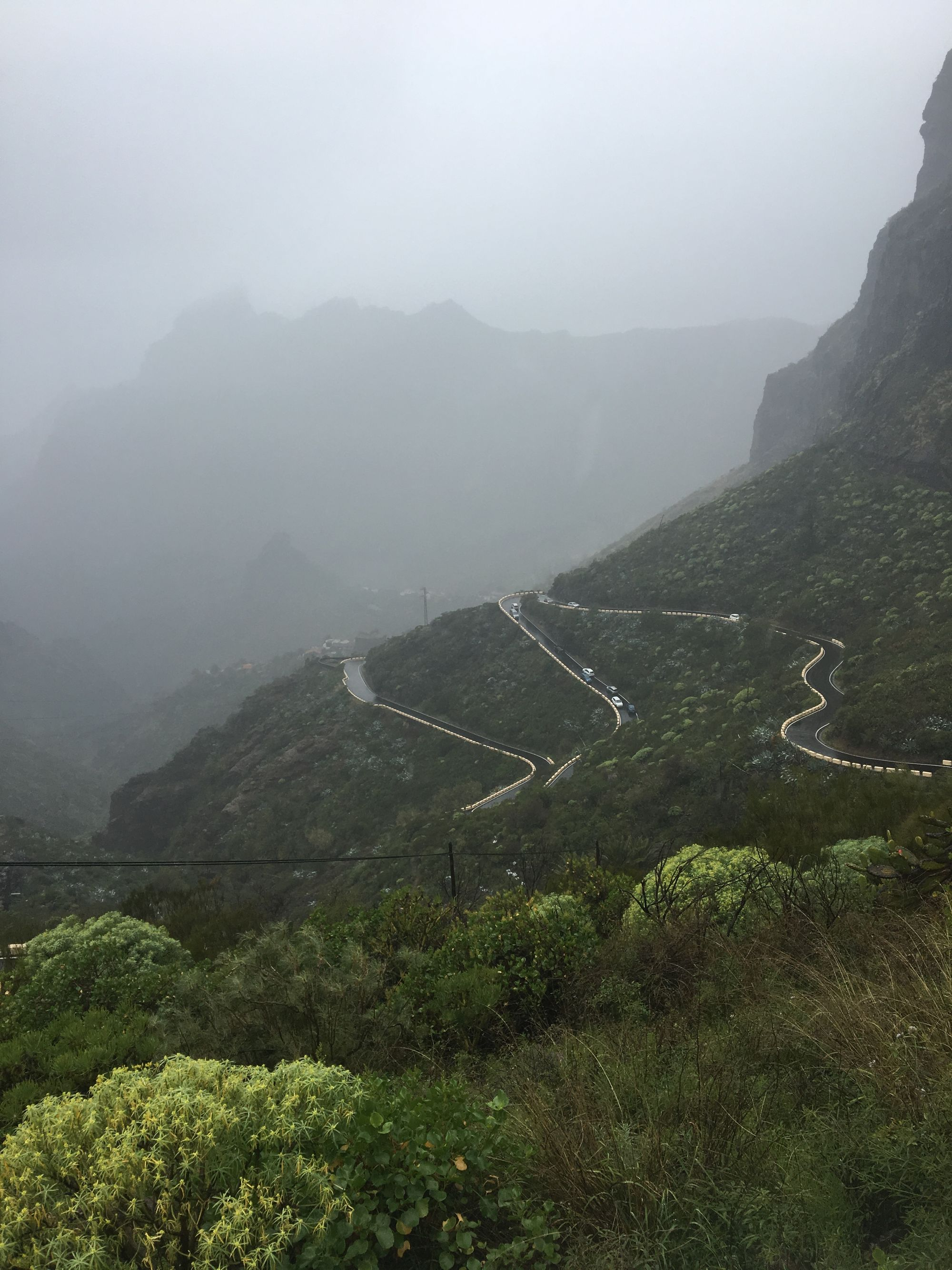 Cycling up Masca in the Teno Massif on the island of Tenerife
